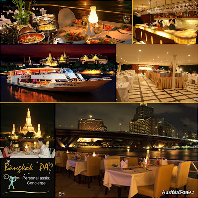 tristar floating restaurant dinner cruise by auswathai collage