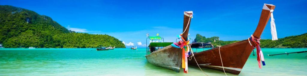Boat at Southern Thailand sea
